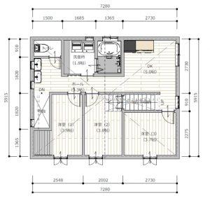 シェアハウス2F(3部屋)